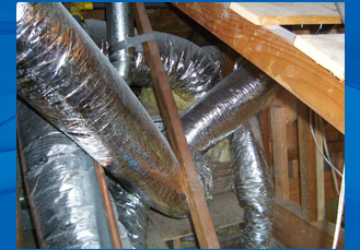 Air Ducts installed wrong